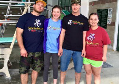 Wade, Amanda, Justin, and Ashleigh
